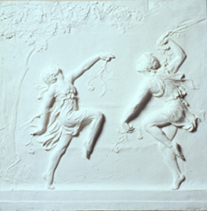 Hoffman's Bacchanale Frieze