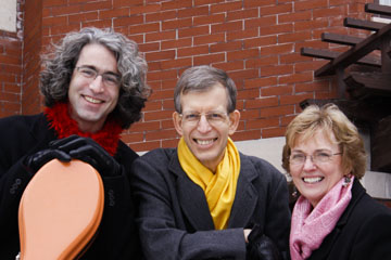 Carey Bostian, John Dowdall, Jan Boland, Red Cedar Trio